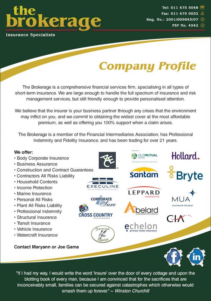 The Brokerage - Profile